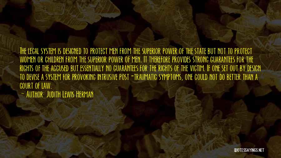 Law Of Power Quotes By Judith Lewis Herman
