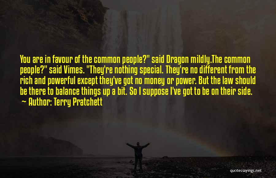 Law Of Power Quotes By Terry Pratchett