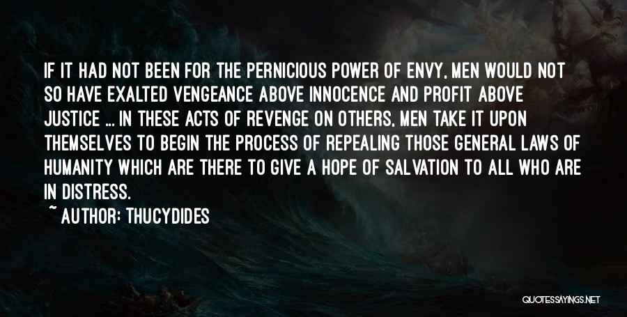 Law Of Power Quotes By Thucydides