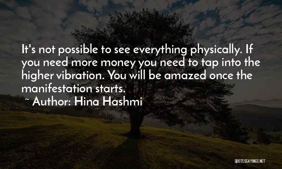 Law Of Vibration Quotes By Hina Hashmi