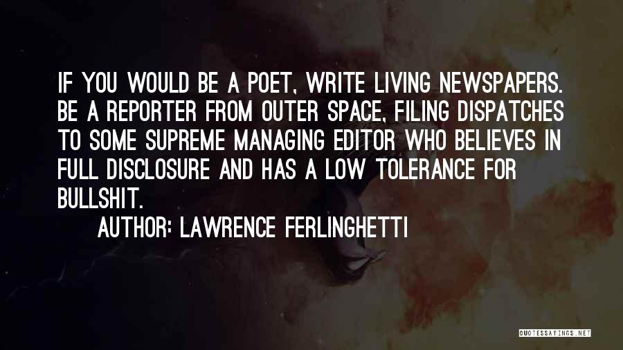 Lawrence Ferlinghetti Quotes 1763487