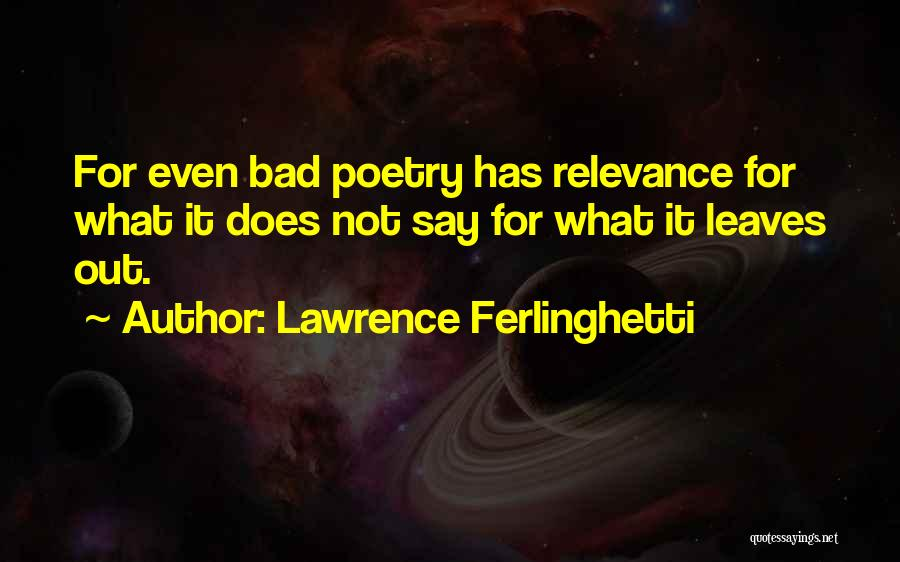 Lawrence Ferlinghetti Quotes 784760