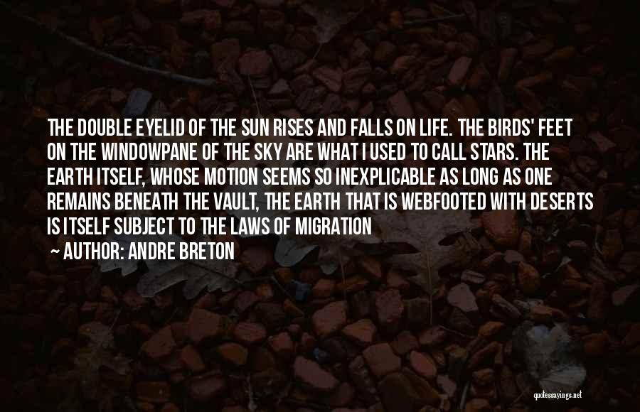 Laws Of Motion Quotes By Andre Breton