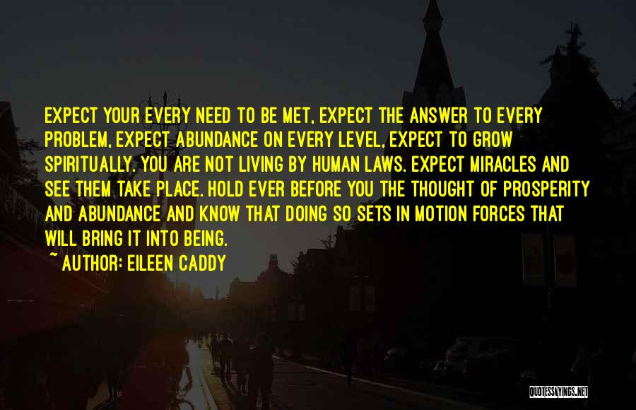 Laws Of Motion Quotes By Eileen Caddy