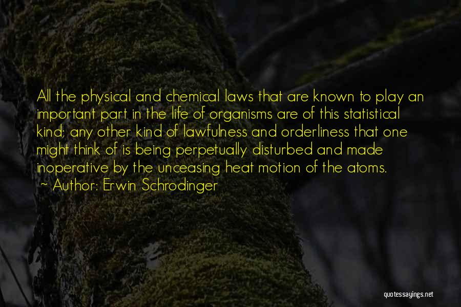 Laws Of Motion Quotes By Erwin Schrodinger