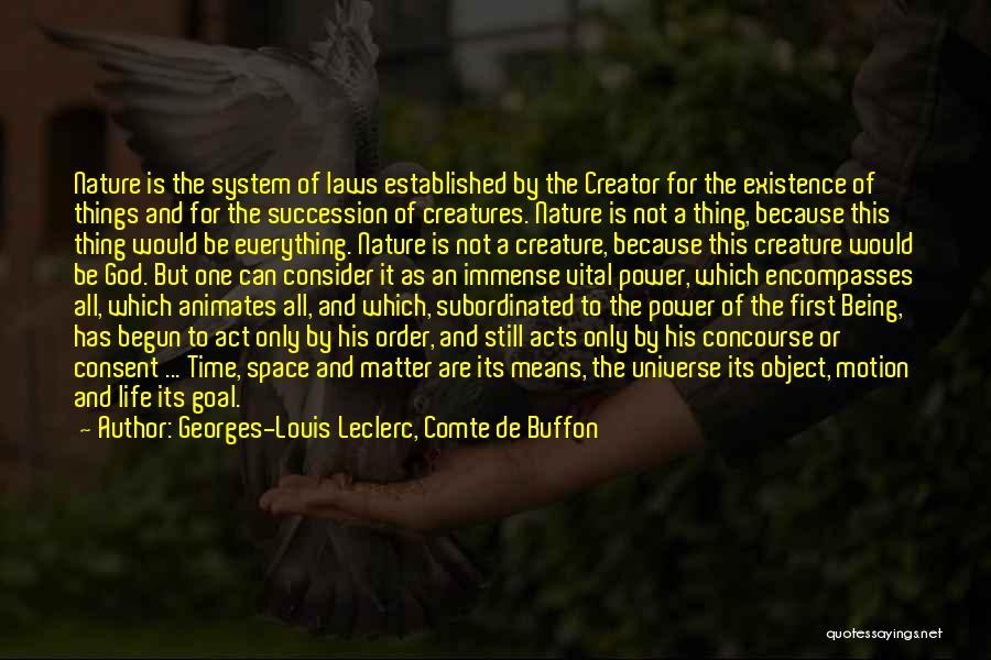 Laws Of Motion Quotes By Georges-Louis Leclerc, Comte De Buffon