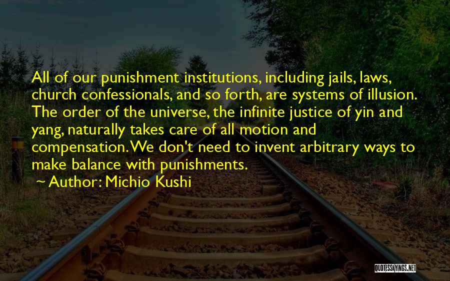 Laws Of Motion Quotes By Michio Kushi