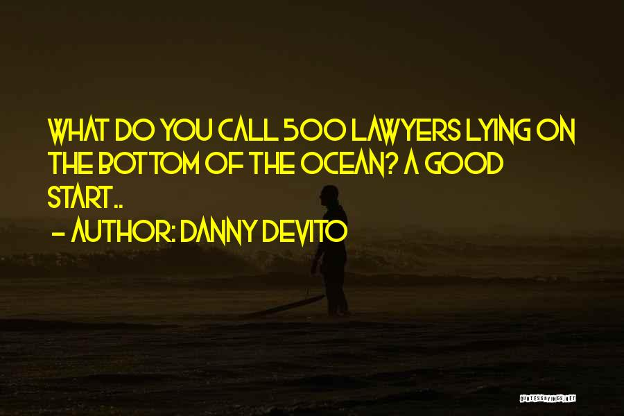 Lawyers Funny Quotes By Danny DeVito