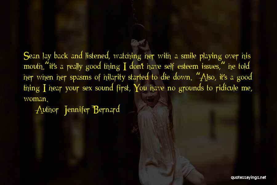 Lay Down With Me Quotes By Jennifer Bernard