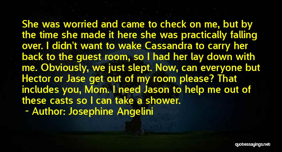 Lay Down With Me Quotes By Josephine Angelini
