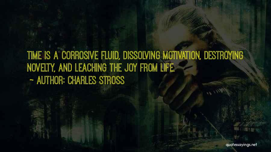 Leaching Quotes By Charles Stross