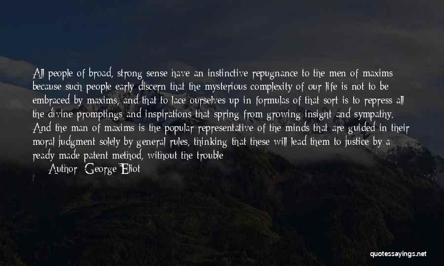 Lead Life Quotes By George Eliot