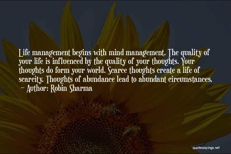 Lead Life Quotes By Robin Sharma