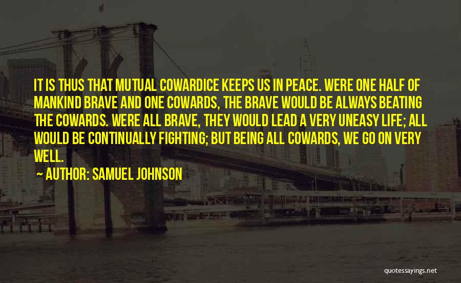 Lead Life Quotes By Samuel Johnson