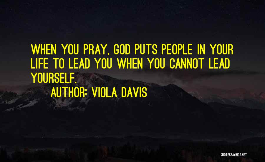 Lead Life Quotes By Viola Davis