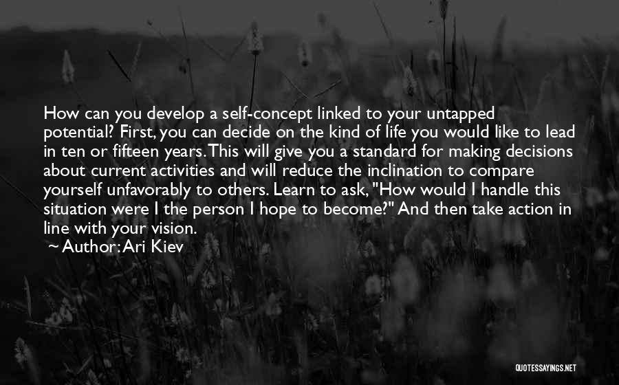 Lead Yourself First Quotes By Ari Kiev