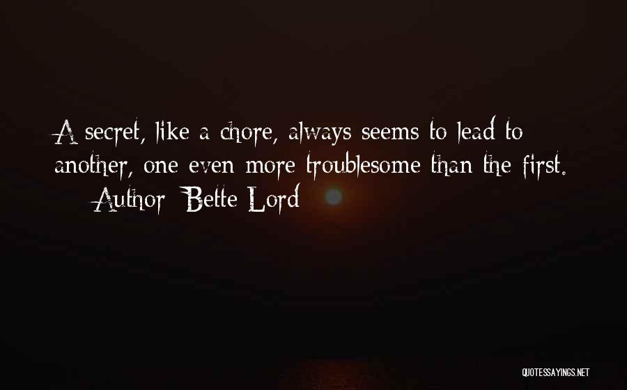 Lead Yourself First Quotes By Bette Lord