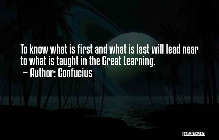 Lead Yourself First Quotes By Confucius