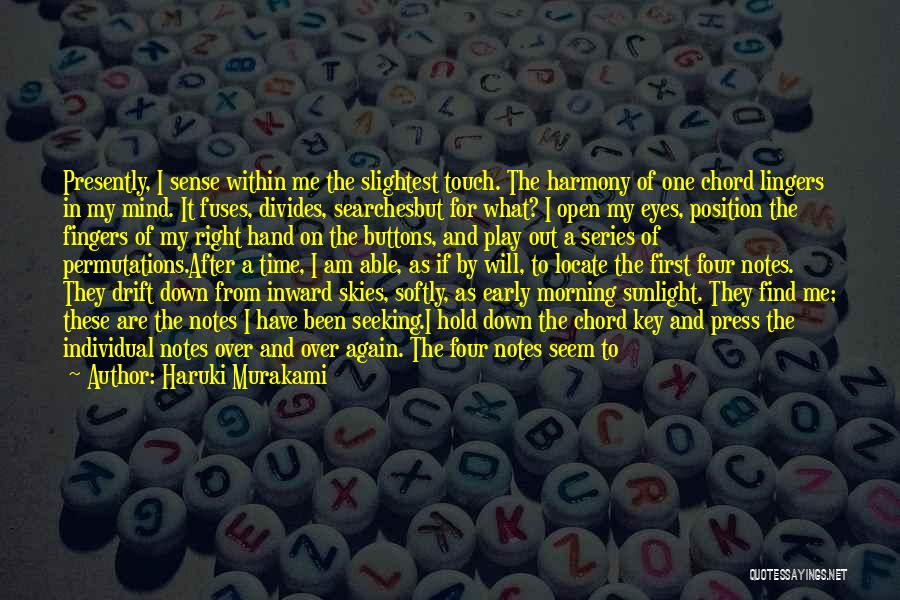 Lead Yourself First Quotes By Haruki Murakami