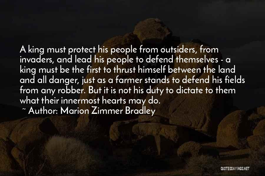 Lead Yourself First Quotes By Marion Zimmer Bradley