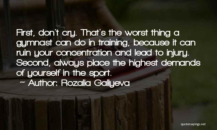Lead Yourself First Quotes By Rozalia Galiyeva