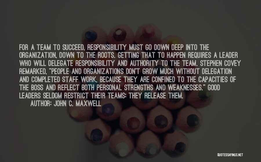Leader Vs Boss Quotes By John C. Maxwell