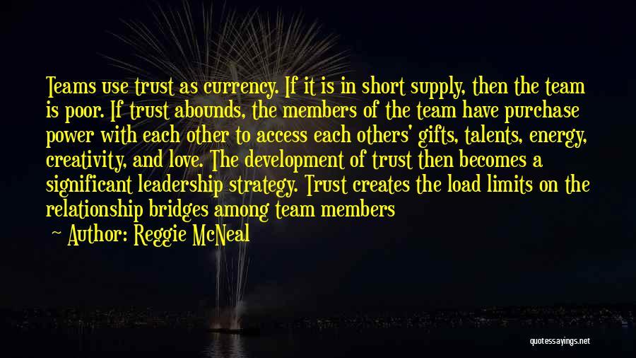 Leadership Team Development Quotes By Reggie McNeal