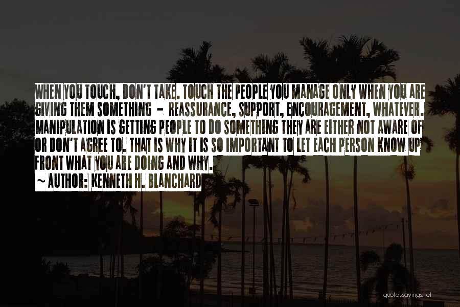 Leadership Versus Management Quotes By Kenneth H. Blanchard