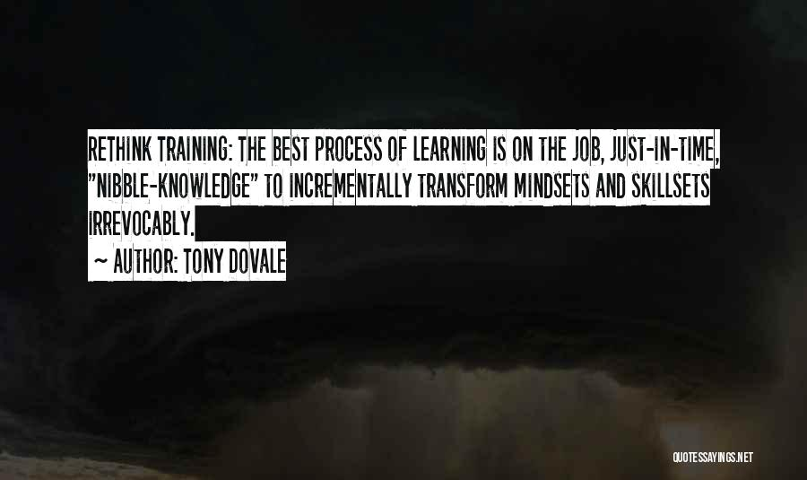 Leadership Versus Management Quotes By Tony Dovale