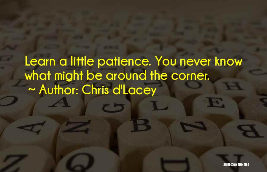 Learn From Those Around You Quotes By Chris D'Lacey