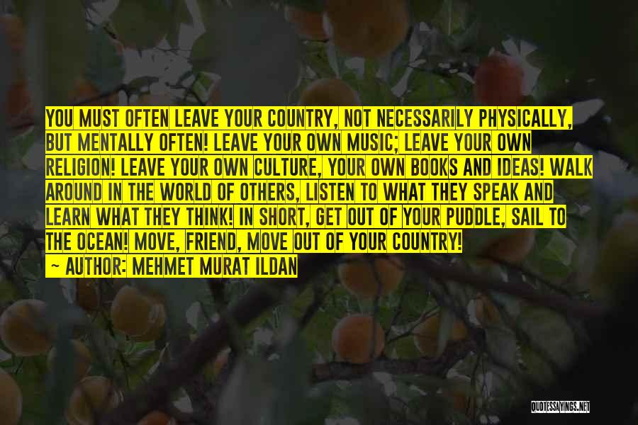 Learn From Those Around You Quotes By Mehmet Murat Ildan