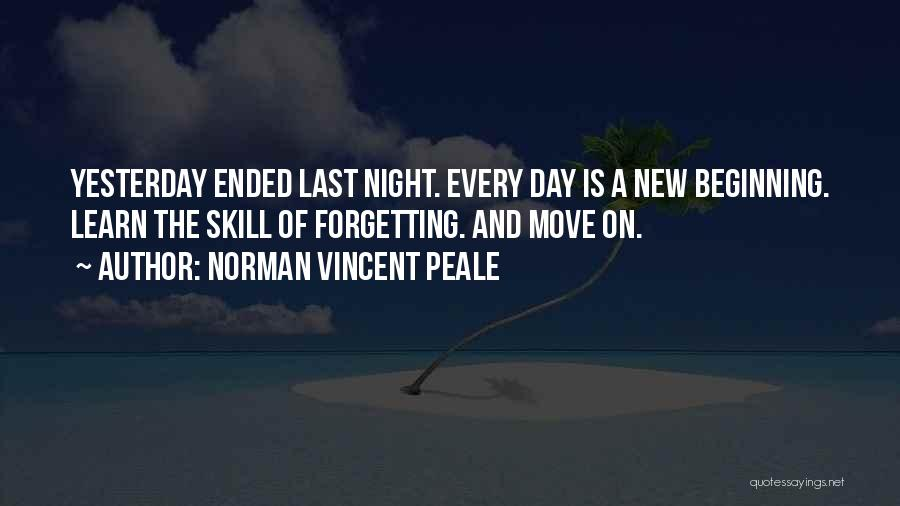Learn From Yesterday Quotes By Norman Vincent Peale