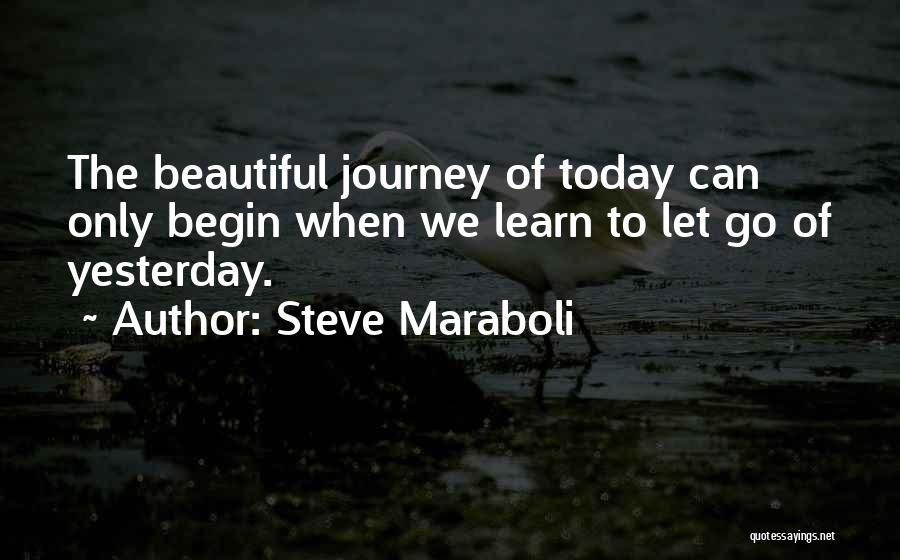 Learn From Yesterday Quotes By Steve Maraboli
