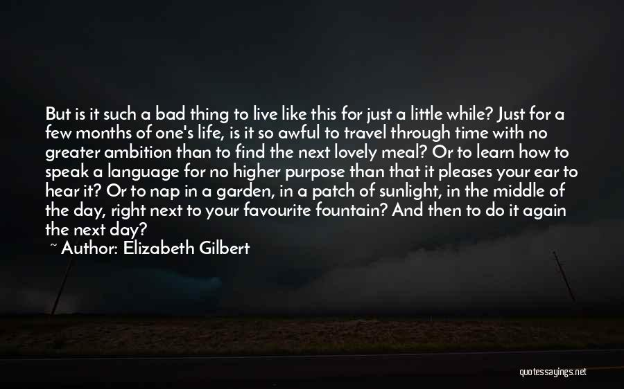 Learn Love Live Life Quotes By Elizabeth Gilbert