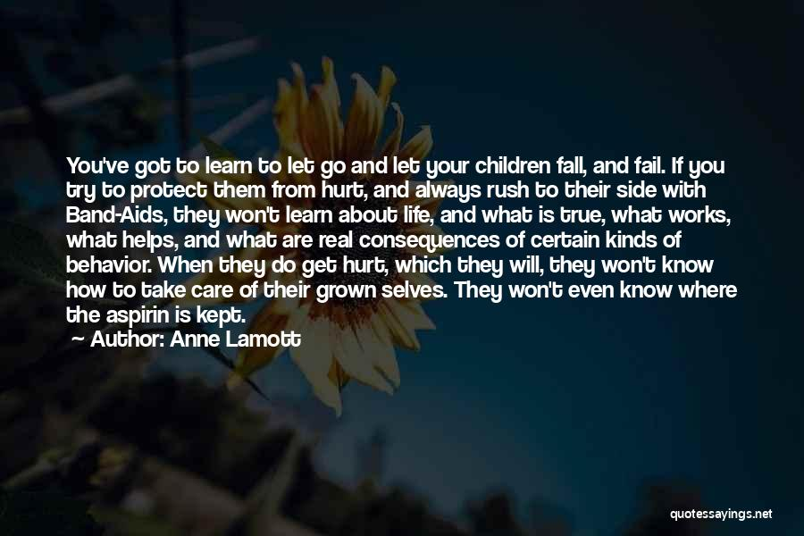 Learn To Care Less Quotes By Anne Lamott