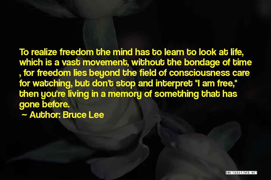 Learn To Care Less Quotes By Bruce Lee