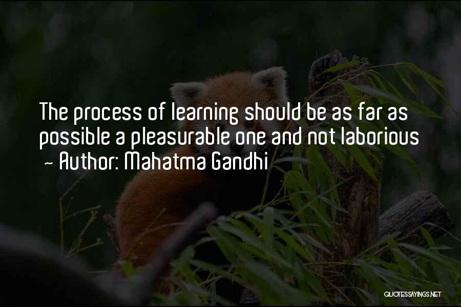 Learning By Gandhi Quotes By Mahatma Gandhi