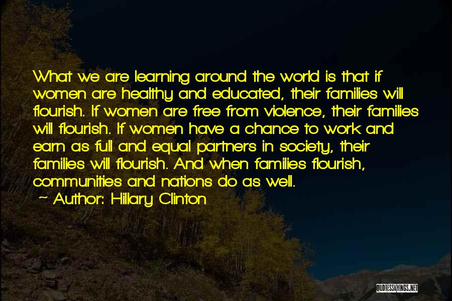 Learning Communities Quotes By Hillary Clinton