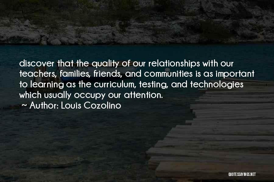 Learning Communities Quotes By Louis Cozolino