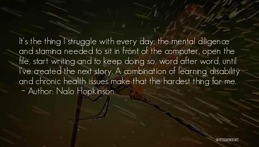 Learning Disability Quotes By Nalo Hopkinson