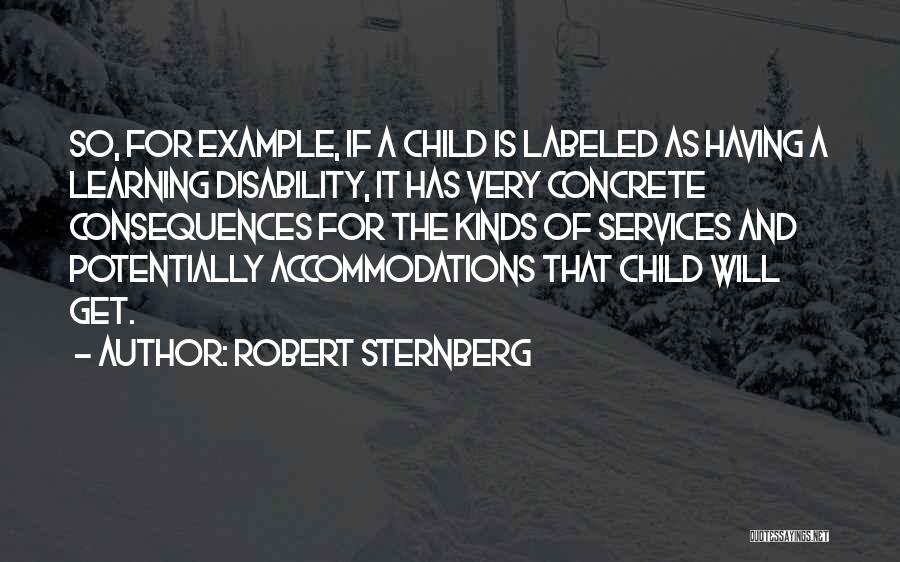Learning Disability Quotes By Robert Sternberg