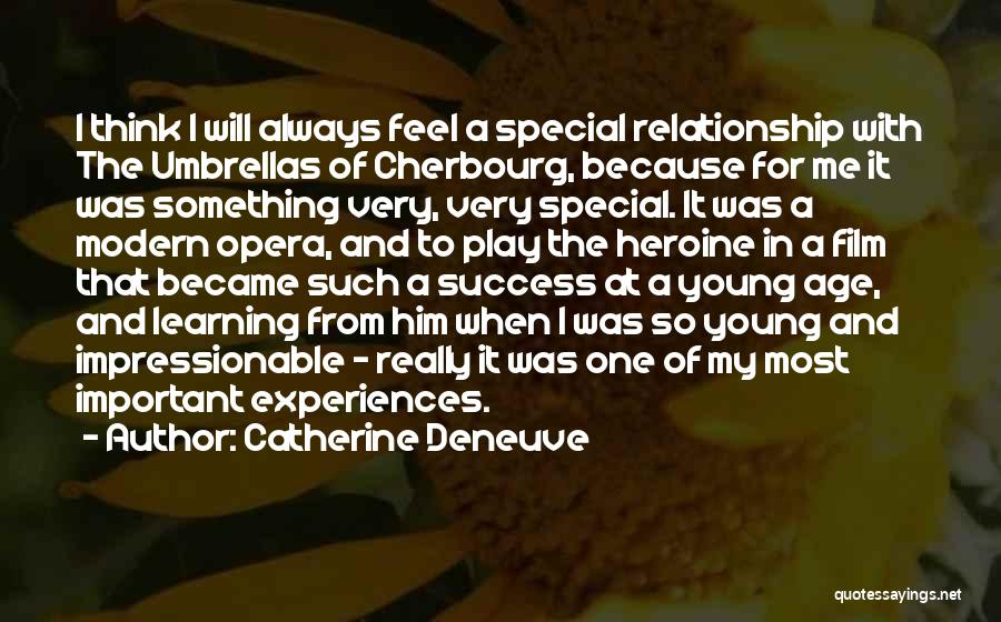 Learning From Experiences Quotes By Catherine Deneuve
