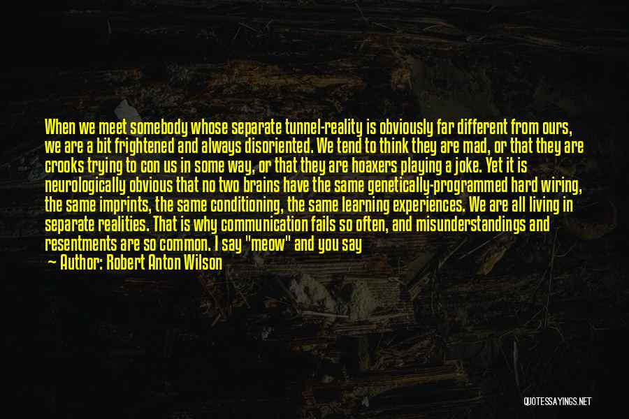 Learning From Experiences Quotes By Robert Anton Wilson