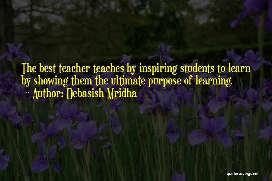 Learning Gandhi Quotes By Debasish Mridha