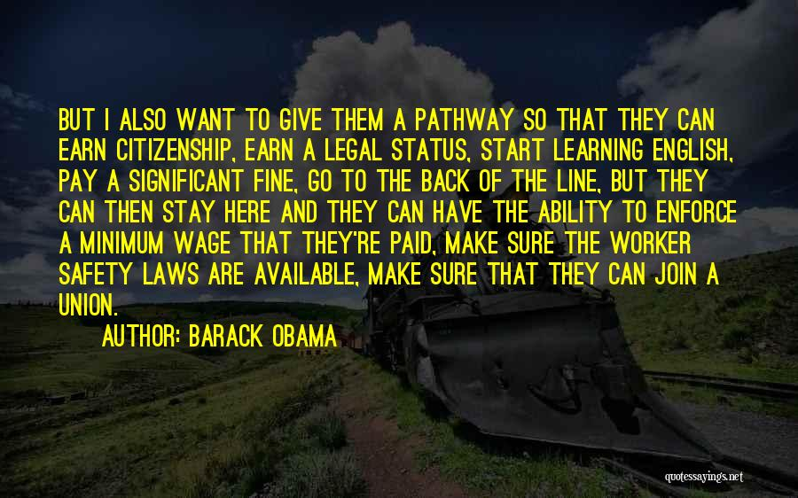 Learning Law Quotes By Barack Obama