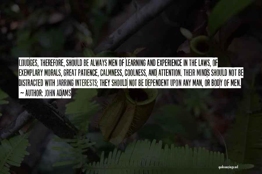 Learning Law Quotes By John Adams