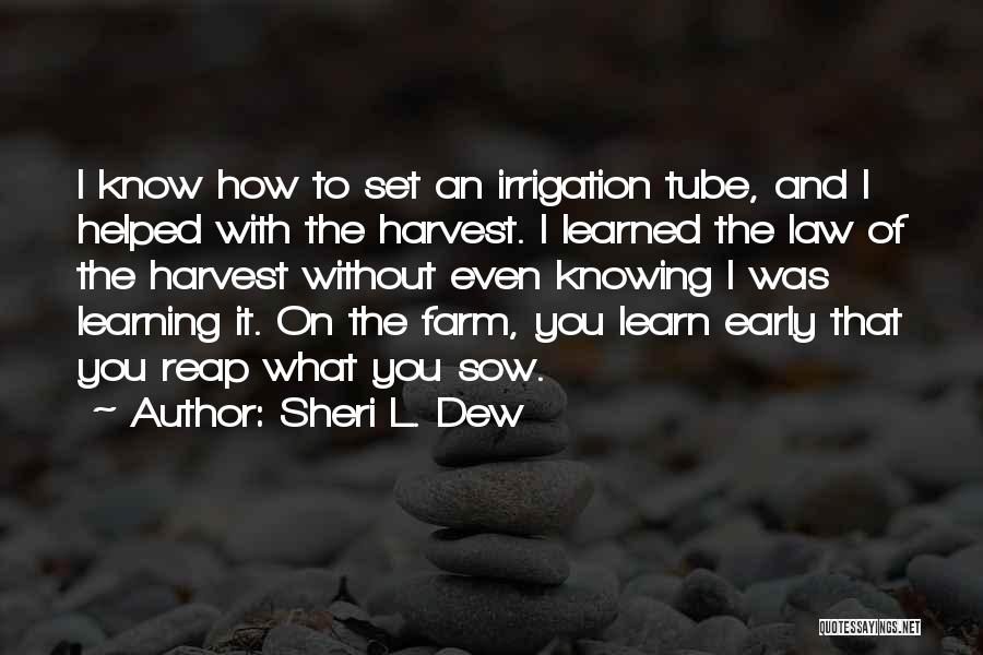 Learning Law Quotes By Sheri L. Dew