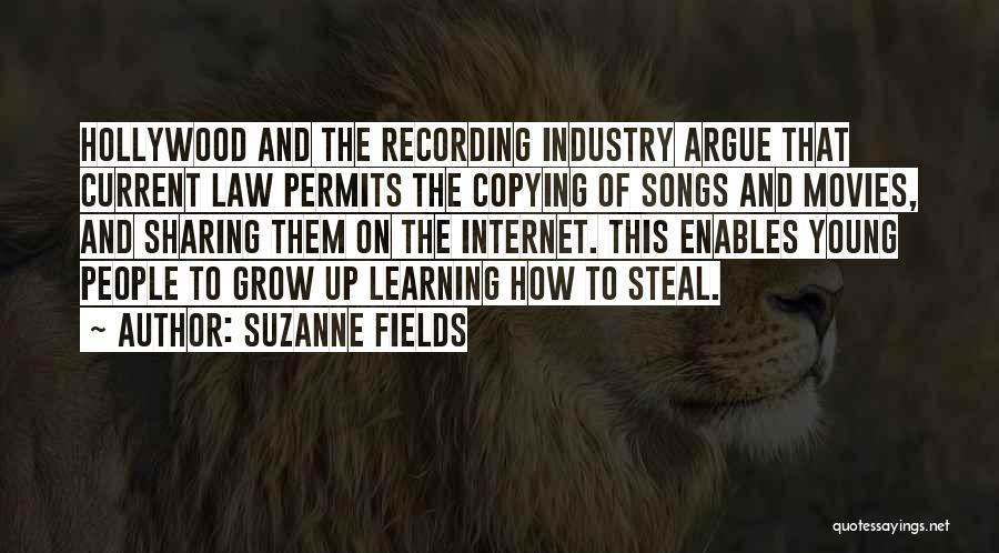 Learning Law Quotes By Suzanne Fields