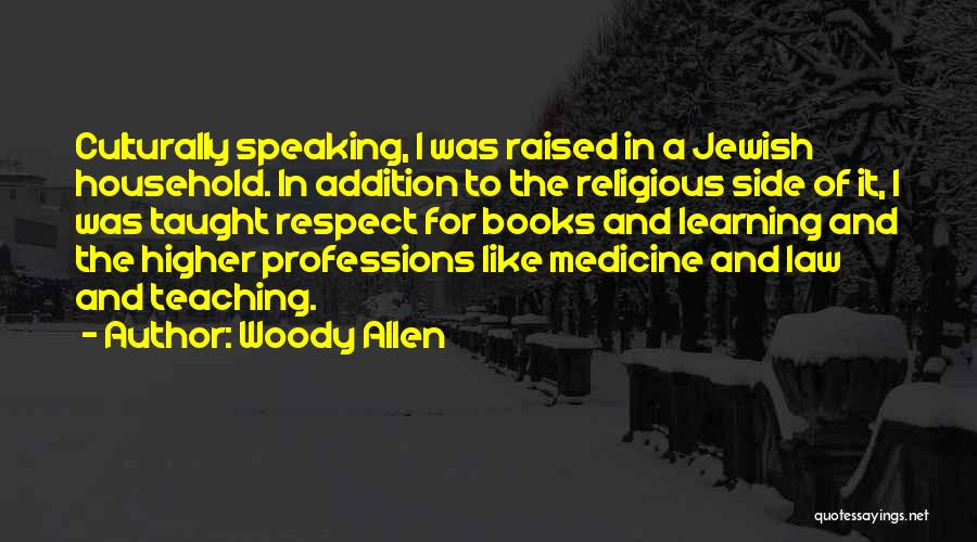 Learning Law Quotes By Woody Allen