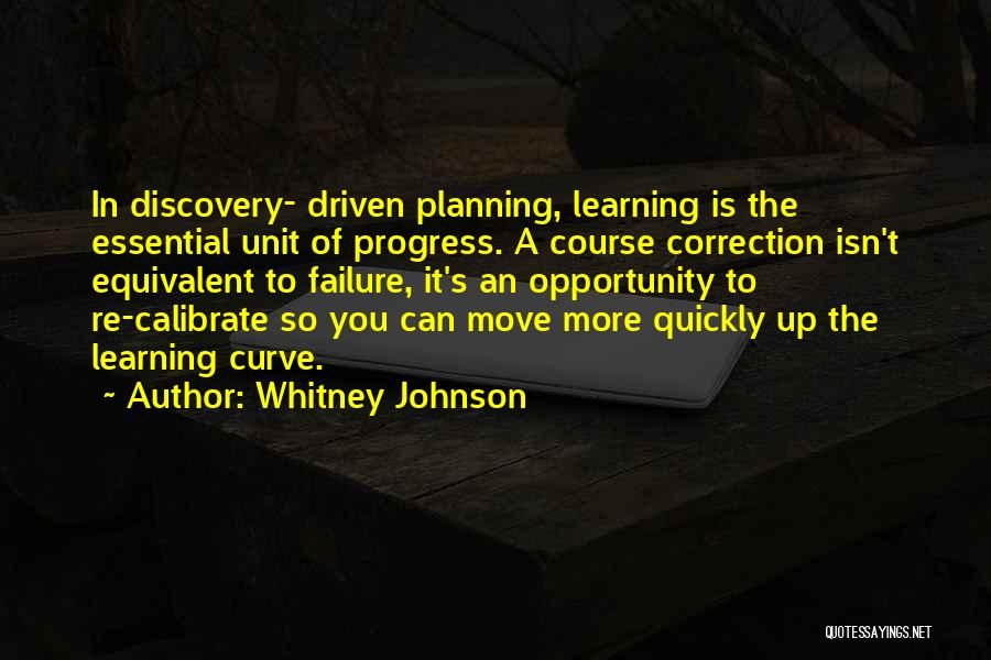 Learning Quickly Quotes By Whitney Johnson